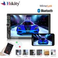 Hikity 2 Din Android car radio GPS de coche Bluetooth reproductor Multimedia MP5 pantalla táctil de 7