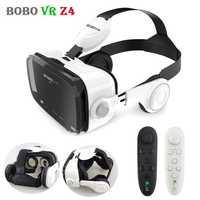Original BOBO VR Z4 de 3D de casco de gafas de realidad Virtual VR gafas auriculares Caja 2 para 4-6 'SmartPhones