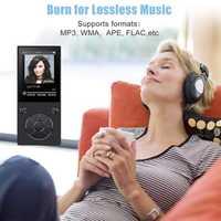 2018 HIFI Bluetooth MP3 player 16 GB altavoz incorporado táctil botón equipado con 2,4-pulgadas de pantalla grande MP3 con música de sonido FM