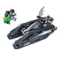 Decool Batman Chariot Superheroes el Bat tanque Superman Super Heroes bloque de construcción Marvel modelo de regalo de juguete Compatible LegoINGlys