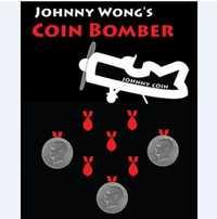 Bombardero de La moneda mágica (Super Moneda de Morgan) Trucos de magia moneda apareciendo/desapareciendo Magie mentalismo cerca ilusión comedia
