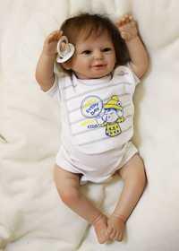 Bebe reborn, muñeco de bebé de silicona de 50 cm, paño para bebés reborn, Cuerpo real, recién nacido, bebé en apariencia, regalo de cumpleaños para niños