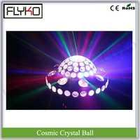 COSMIC bola de cristal con láser Efecto 20 W 3 W x 6 unids RGB disco auto luz bola mágica