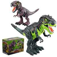 Electrónica Tyrannosaurus Rex juguete dinosaurio Robot intermitente con sonar los dinosaurios para Juegos Juguetes