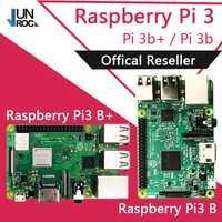 Original Element14 Raspberry Pi 3 Modelo B/B + Plus + BCM2837 1,2G raspberry pi 3 con 2,4g y 5g WIFI Bluetooth 4,2 y PoE