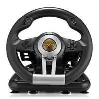 PXN V3II juego de carreras volante USB vibración de Motor Dual plegable Pedal controlador remoto para PS3 PS4 Xbox interruptor de Nintendo