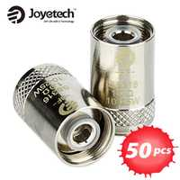 50 unidades Joyetech eGO AIO bobina de Cubis BF bobina 0.5ohm/0.6ohm SS316 Clapton atomizador cabeza para CUBIS/eGO AIO/cubo Mini atomizador