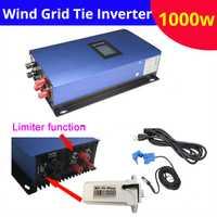 Nuevo de onda sinusoidal pura 1000 W 48 V 96 v 110 V 120 V 220 V viento en inversor de red bult en Controlador inversor de la rejilla con wifi pantalla LED