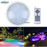 AC12V Par56 18 W remoto RGB piscina LED piscina luces bombilla bajo el agua luces de ahorro de energía garantía 95% 2 años