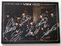 VIXX autografiado firmado con pen el primer álbum VOODOO CD + photobook nuevo coreano 07,2016