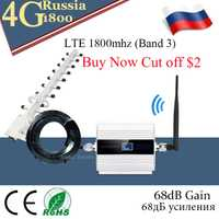 1800 amplificateur cellulaire répéteur 2g 4g 1800 mhz GSM amplificateur de Signal Mobile 4g amplificateur de signal 1800 dcs téléphone cellulaire