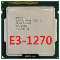 Intel Xeon Quad-Core procesador E3-1270 E3 1270 de 3,4 GHz 8 MB LGA 1155 CPU LGA