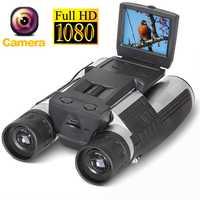 12x32 HD 1080 p binoculares cámara Digital 5MP CMOS USB Binocular telescopio 2,0 ''pantalla Zoom telescopio videocámara grabación de vídeo