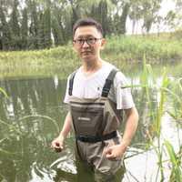 JEERKOOL volar ropa de pesca botas ropa pecho portátil guardapolvos impermeable vadeando caza pantalones de pie para peces zapato