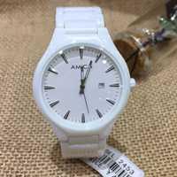 AMICA 2018 de las mujeres de la moda es de cerámica resistente al agua reloj de cuarzo relojes mujer regalo Relogio femenino envío gratis 2453