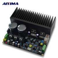 AIYIMA Amplificador amplificadores de Audio LM3886 estéreo de alta Amplificador de potencia Junta OP07 DC independiente de 5534 Amp OP PCB bricolaje Kits