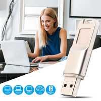 Huellas dactilares de encriptación USB 2,0 Flash Drive de datos de alta velocidad reconocimiento U disco USB 2,0 U disco huellas dactilares de cifrado de almacenamiento de datos