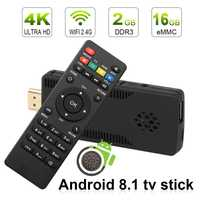 Leelbox tv stick caja de tv android 8 1 4 K tv box android 8,1 2 GB RAM 16 GB RK3229 Quad Core wifi mini pc stick HD TV Dongle