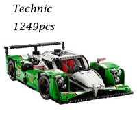 Modelos juguetes de construcción aficiones 24 horas carrera 20003 3364 compatible con lego bloques Technic 42039 Educación de bricolaje