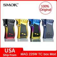 Original humo MAG 225 W TC Mod caja 225 w de potencia de salida VW/TC y modo memoria arma-MANGO caja Mod de cigarrillo electrónico