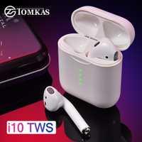 I10 TWS auricular Bluetooth aire vainas auriculares inalámbricos 5,0 Bluetooth inalámbrico Auriculares auriculares de Control táctil para teléfono inteligente