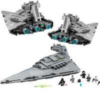 05062 Star Wars le Super destructeur d'étoiles impérial blocs de construction briques jouets compatibles avec Bela Star War 75055