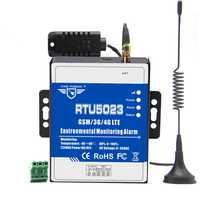 Entorno GSM sistema de alarma de control de estado de temperatura y humedad Sensor apoya Modbus RTU sobre TCP