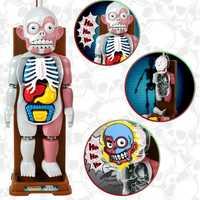 Simulación 3D rompecabezas montado Scary cuerpo modelo Halloween Tricky broma juguete 88 S7JN