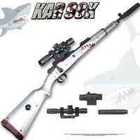 Zhenduo jouet KAR98K Gel balle tireur eau balle pistolet souple grève fléchettes arrière blaster pistolet gratuit pour cadeau de noël