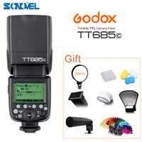 GODOX E-TTL TT685C Cámara Flash Speedlite 2,4 GHz de alta velocidad 1/8000 s GN60 para Canon EOS 800D 760D 750D 650D 80D 77D 60D 7D 6D 5Ds