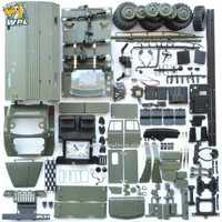 WPL B36 1:16 Ural RC coche 6WD Camión Militar Rock Crawler mando vehículo de comunicación KIT de juguete Carrinho de control