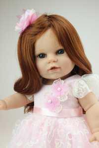 Nuevo Boneca bebé vivo muñecas de 18 pulgadas con vestido de moda Niña Regalo de Cumpleaños Día de San Valentín muñecas americanas brinquedos meninas