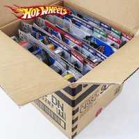 72 unids/caja caliente ruedas de fundición de Metal Mini modelo Brinquedos Hotwheels coche de juguete para niños juguetes para niños de cumpleaños 1:43 regalo