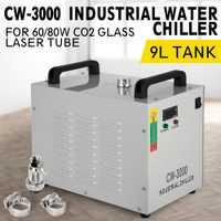 220 V 50Hz/60Hz CW-3000 termólisis enfriador de agua industrial chiller para CNC/grabador láser de grabado máquinas 60 W/80 W