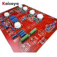 Hola estéreo Push-Pull EL84 de tubo de vacío amplificador PCB bricolaje Kit y terminado Ref Nota de PP junta D4-004