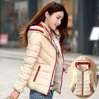 Moda mujeres caliente chaqueta Abrigo con capucha mujeres calientes outwear mujeres ligero invierno grueso chaqueta de abrigo para el frío tiempo
