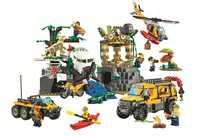 Bela 10712 Ungle Jungle Exploration Site bloc de construction jouets enfants cadeaux villes compatibles avec Legoings ville Jungle 60161