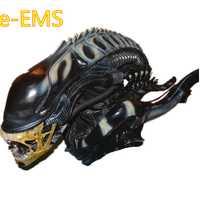 Anime Aliens vs depredador-Requiem 1:1 alienígena contra Ver busto estatua figura de acción MODELO DE Giocattolo G2531
