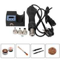 Mini pistola de calor caliente portátil Kaisi Estación de soldadura de retrabajo BGA 220 V/110 V móvil de mano herramientas de reparación de teléfono soplador de aire caliente