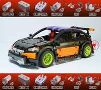 Nuevo MOC RC seguimiento Hatchback Tipo R MOC-6604 ajuste legoings motor técnico función de potencia bloques de construcción de juguete modelo de regalo para niños