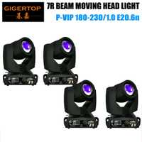 Luz de cabeza móvil 4 XLOT 230 W sharpy 7r beam/osram 7R 230 W beam Luz de cabeza móvil/arcilla paky sharpy beam Luz de cabeza móvil
