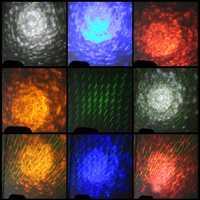 Lámpara láser para fiesta de Navidad, impermeable, iluminación de lluvia, lluvia de meteoritos, proyector de ondas de agua para exteriores BEIAIDI