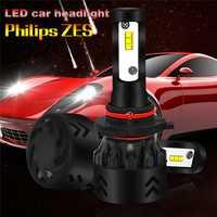 2 unids/set LED H4 H7 H11 9005 9006 80 W 8500LM Auto Car lámpara LED de alta calidad bombillas de faros super brillante Arco-Beam Kit