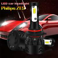 2 unids/set LED H4 H7 H11 9005 9006 80 W 8500LM Auto Car lámpara LED de alta calidad bombillas de faros super brillante Arco-Beam Kit
