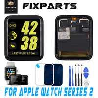 98% Original nuevo para Apple Watch Series 2 Pantalla LCD digitalizador de Pantalla táctil Series2 38mm/42mm Pantalla reemplazo + vidrio + herramientas