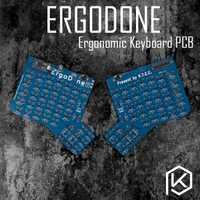 Clavier mécanique personnalisé ergodone ergo TKG-TOOLS Kit de clavier ergonomique programmé avec infinity ergodox