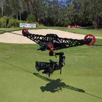 Linecam cablecam equipo de video profesional cablecam sistema ojos de águila