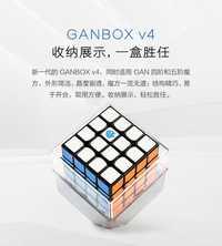 Nouveau GAN460M 4x4x4 Cube magique Puzzle torsion vitesse magnétique professionnel Gan 460 M Cubo Magico 4x4 Cube 49mm avec emballage au détail