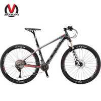 SAVA bicicleta de montaña mtb 27.5er carbono montaña bici bicicleta de montana de bicicleta de carbono mtb con DEORE XT M8000 y MANITOU aire de la horquilla
