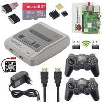 Retroflag Raspberry Pi 3 modelo B, modelo B + Plus Kit + 32 GB tarjeta SD + adaptador de corriente + ventilador + disipadores de calor + Cable HDMI NESPI SUPERPI RetroPie